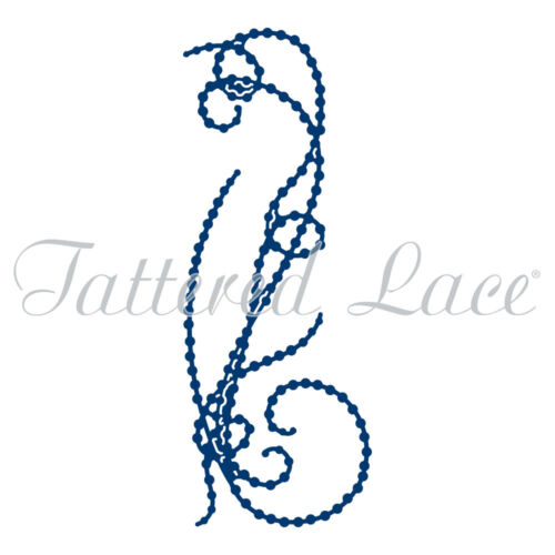 Tattered Lace corte muere florecer #2 D1180 Stephanie Weightman Perla