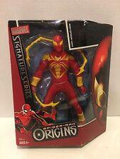 Spider-Man Origins Signature Series Iron Spider-Man Hasbro NIP 4+ 2006