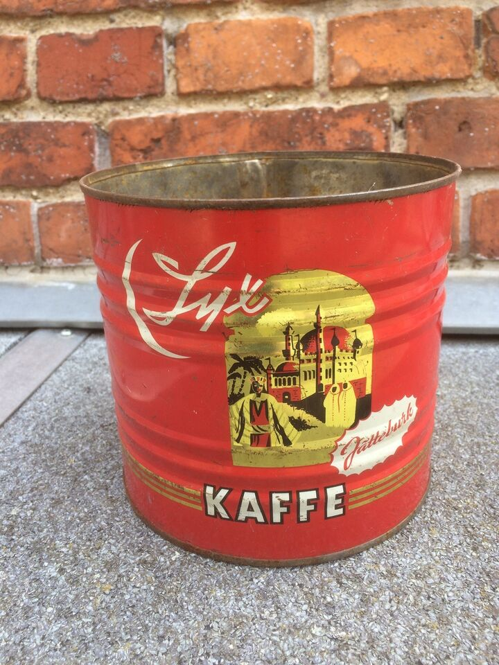 Dåser, Gl. Stor Kaffedåse