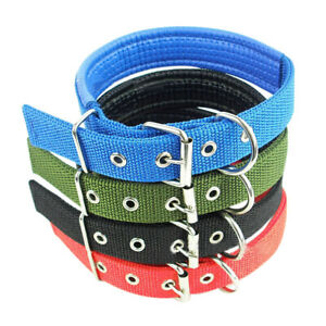 S-XXL-Adjustable-Neck-Strap-Pets-Dog-Nylon-Sponge-Buckle-Collar-Puppy-Necklace