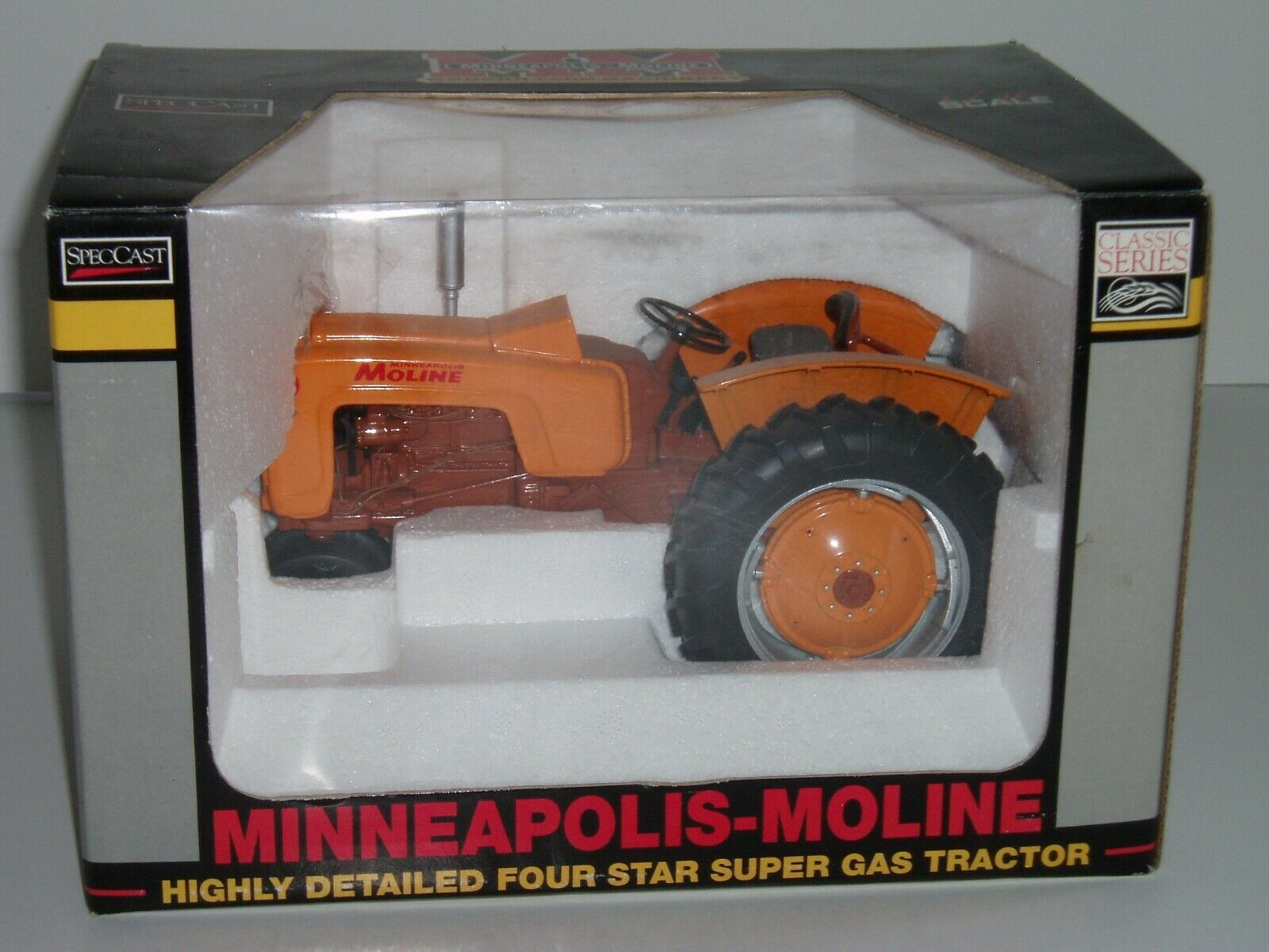 Speccast 1 16 Diecast MINNEAPOLIS-MOLINE quatre étoiles Super Gaz Tracteur