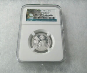 2018-S-Silver-25C-NGC-PF69-Ultra-Cameo-Pictured-Rocks-Early-Releases-Proof-NGC