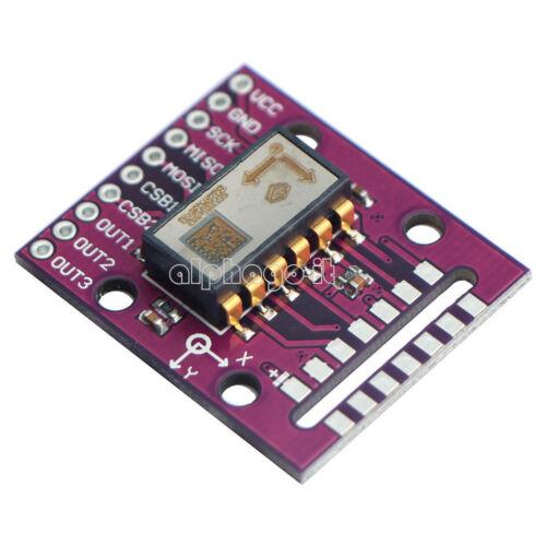 SPI SCA100T-D02 Dual Axis Tilt Angle Sensor Module ±90° Degrees High Precision