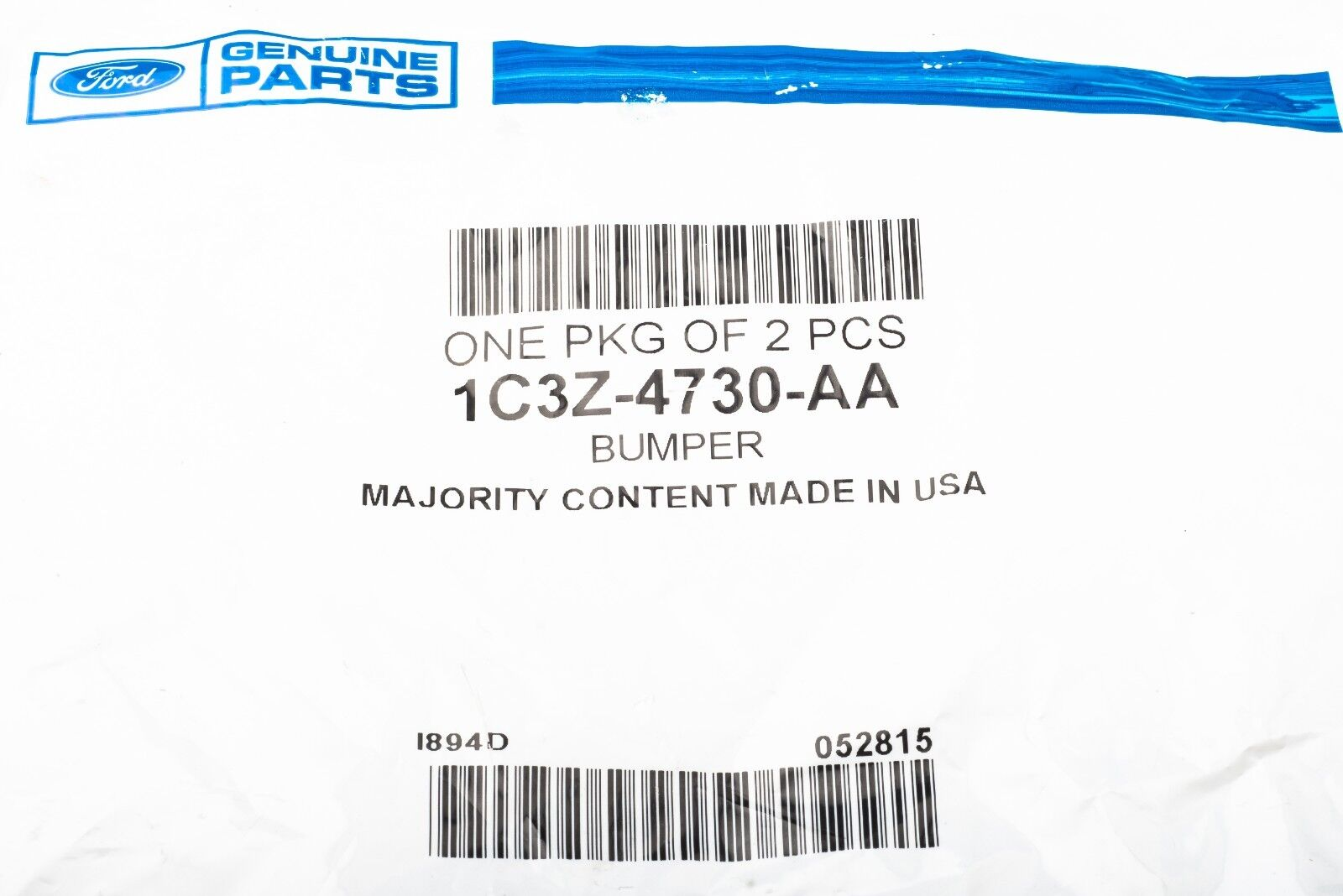 Ford 1C3Z-4730-AA BUMPER