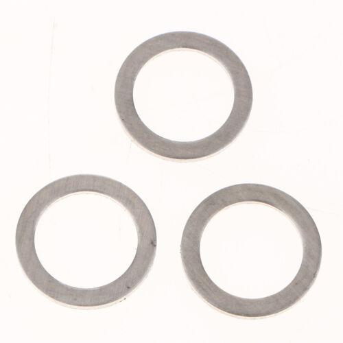 50x M14 Aluminum Oil Drain Plug Gasket Washer Fits Hyundai 21513-23001