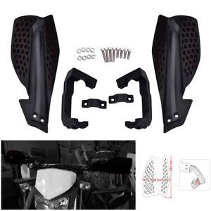 2x 7//8/'/' 22mm ATV Dirt Bike Motorcycle Handlebar Hand Guard Handguard Protector