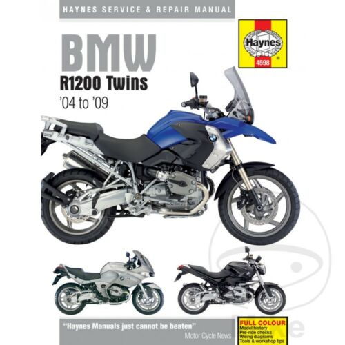 BMW R 1200 RT ABS 2008 Haynes Service Repair Manual 4598