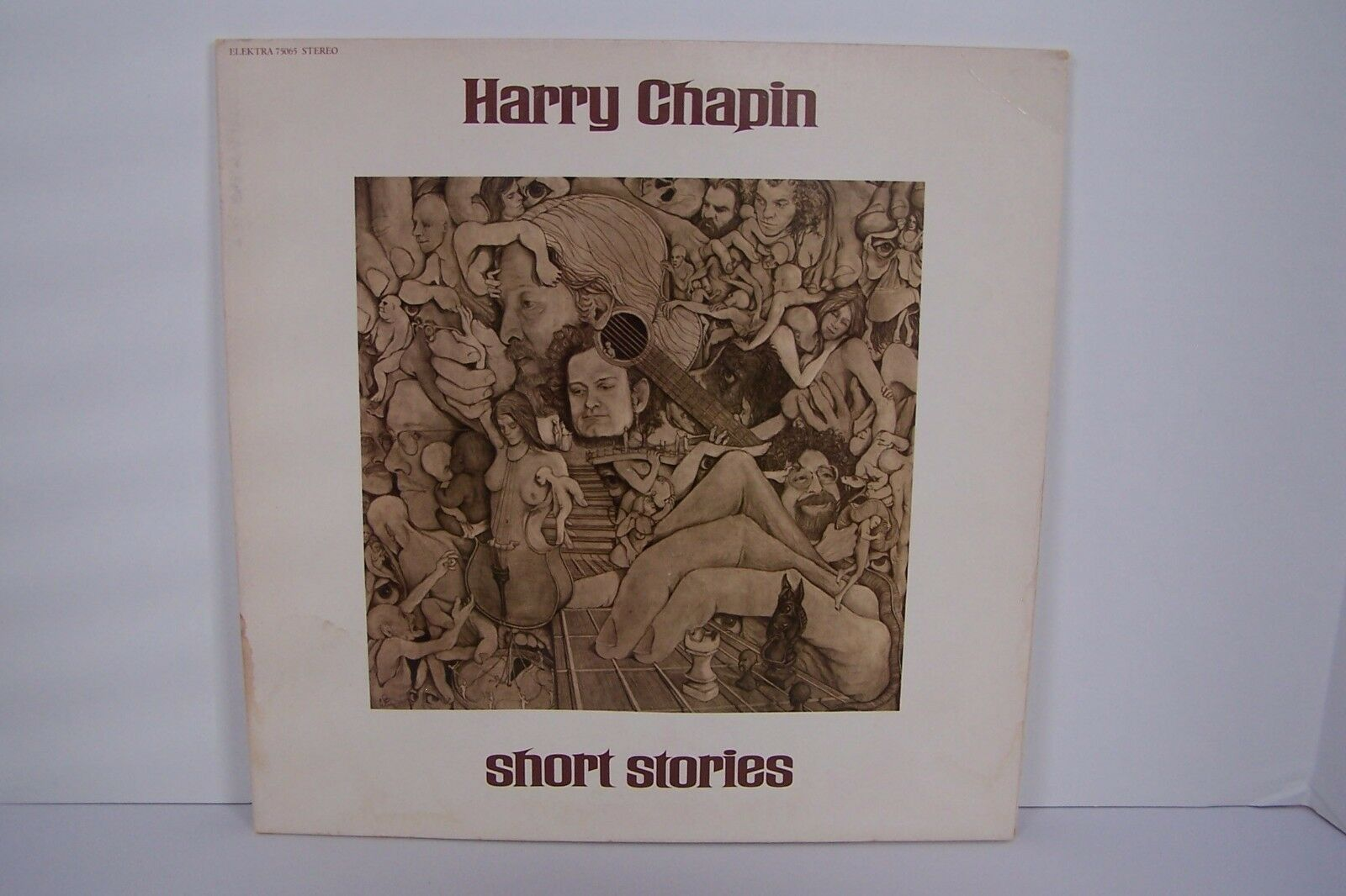 Harry Chapin - Short Stories Vinyl LP Record Album EKS