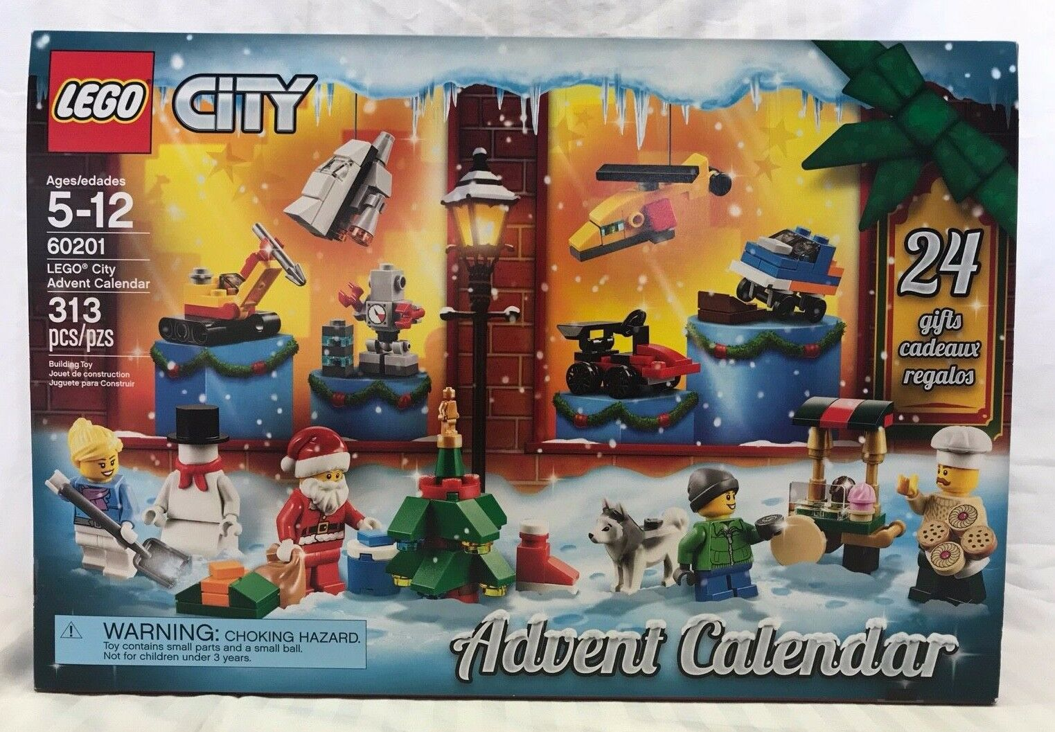 LEGO CITY 2018 ADVENT CALENDAR SET 60201 - 24 LEGO GIFTS NEW CHRISTMAS