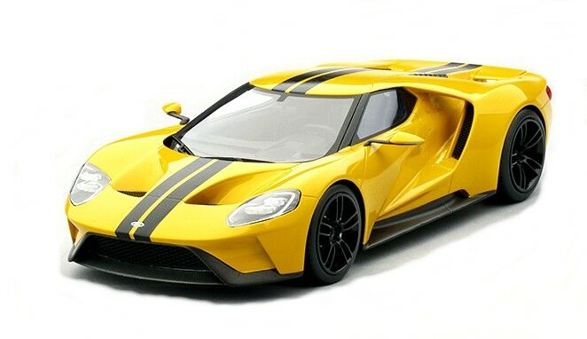 Ford Gt Triple Amarillo Los Angeles 2018 Top Speed  Model