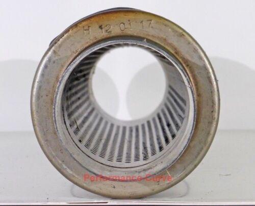 """4/"""" Round Xlerator Performance Muffler Resonator SS 2.5/"""" ID XS0416"""