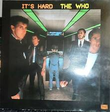 THE WHO   LP   IT'S HARD    FRANCE