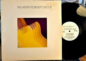 THE-HENRY-ROBINETT-GROUP-LP-Artful-Balance-7207-Promo-1987-Jazz-Guitar