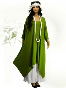 48 56 Tunika Long Poco 52 xxl xxxl Überwurf Kleid shirt xl 44 L Design Lagenlook UHWqwpRx7B