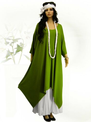56 xl 44 Tunika 52 48 shirt Long xxxl Überwurf L Design Lagenlook Poco xxl Kleid qpw48R66B