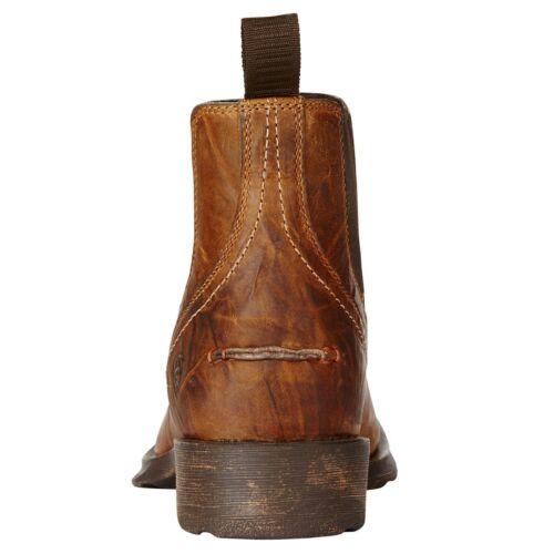 Ariat ® Men/'s Midtown Rambler Barn bout carré Chelsea Bottes 10019868