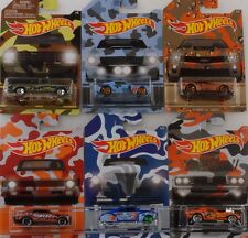 Camouflage Set 6 pcs Pickup Shelby Chevy Nova Camaro ZL1 1:64 Hot wheels USA