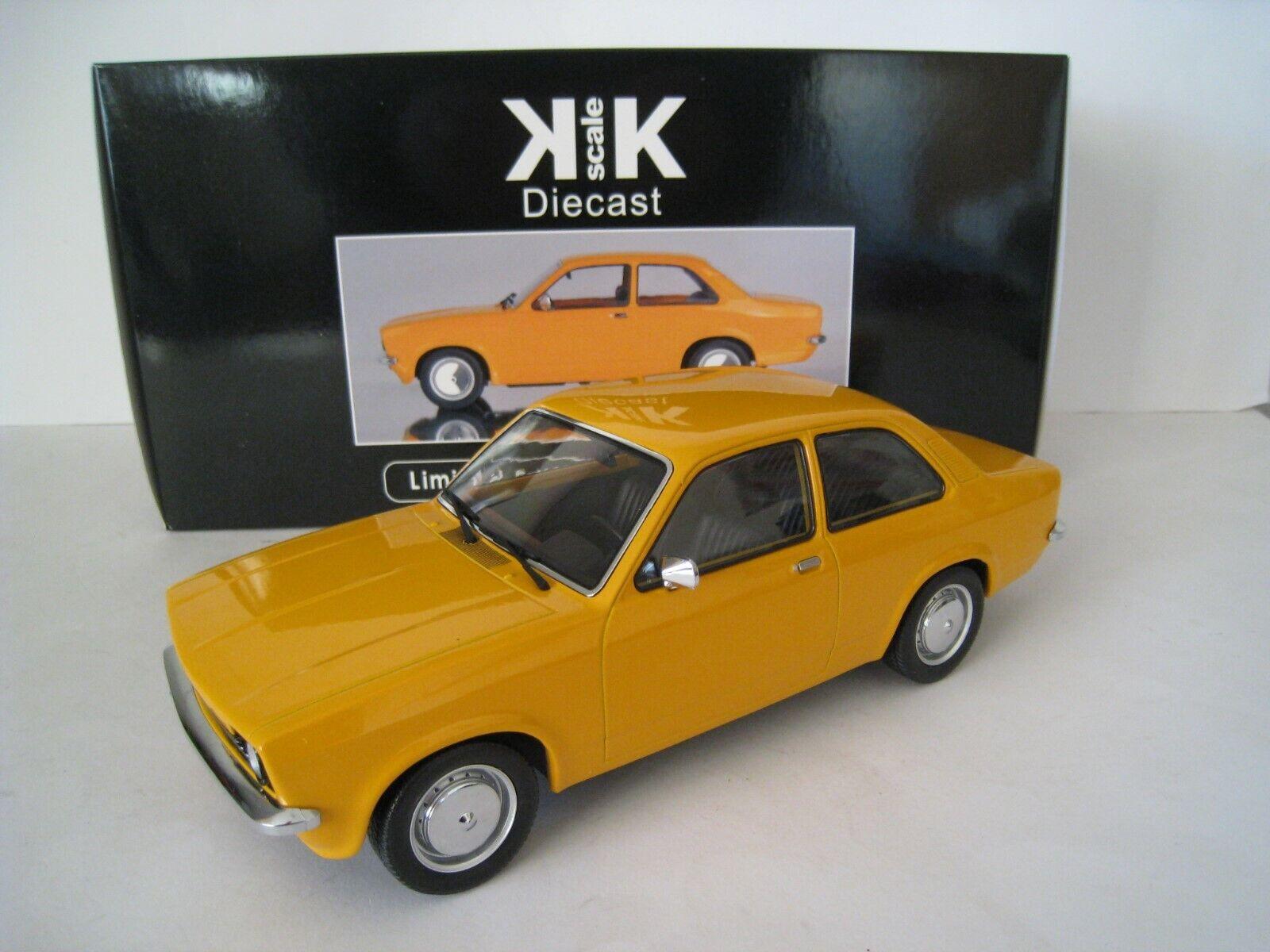 Opel Kadett C 1973-1977 Orange KK-Scale limitée à 1.500 pièces 1 18 neuf dans sa boîte