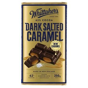 Whittaker's Salted Caramel Dark Chocolate 250g