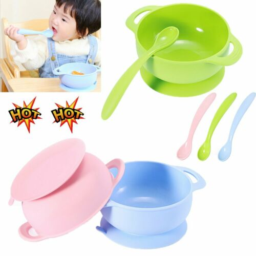 Cute Silicone Happy Baby Kids Suction Table Food Tray Placemat Plate Bowl Mat @I
