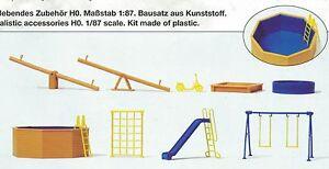 Giochi-per-parco-giochi-per-bambini-Preiser-17351-FIGURE-SCALA-HO-16-5-mm