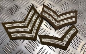 Genuine-British-Military-No2-Issue-FAD-Rank-Stripe-Chevron-Patches-Assorted-Rank