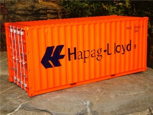 RARE 1 20 SCALE HAPAG LLOYD SHIPPING FREIGHT CONTAINER HIGH SIMULATION MODEL TOY