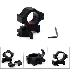 """1"""" QD Quick Release Scope Mount For Rifle Picatinny Rail ..."""