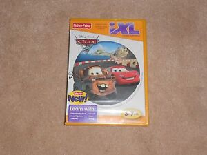 NEW-IXL-LEARNING-SYSTEM-DISNEY-PIXAR-CARS-2-GAME-FISHER-PRICE