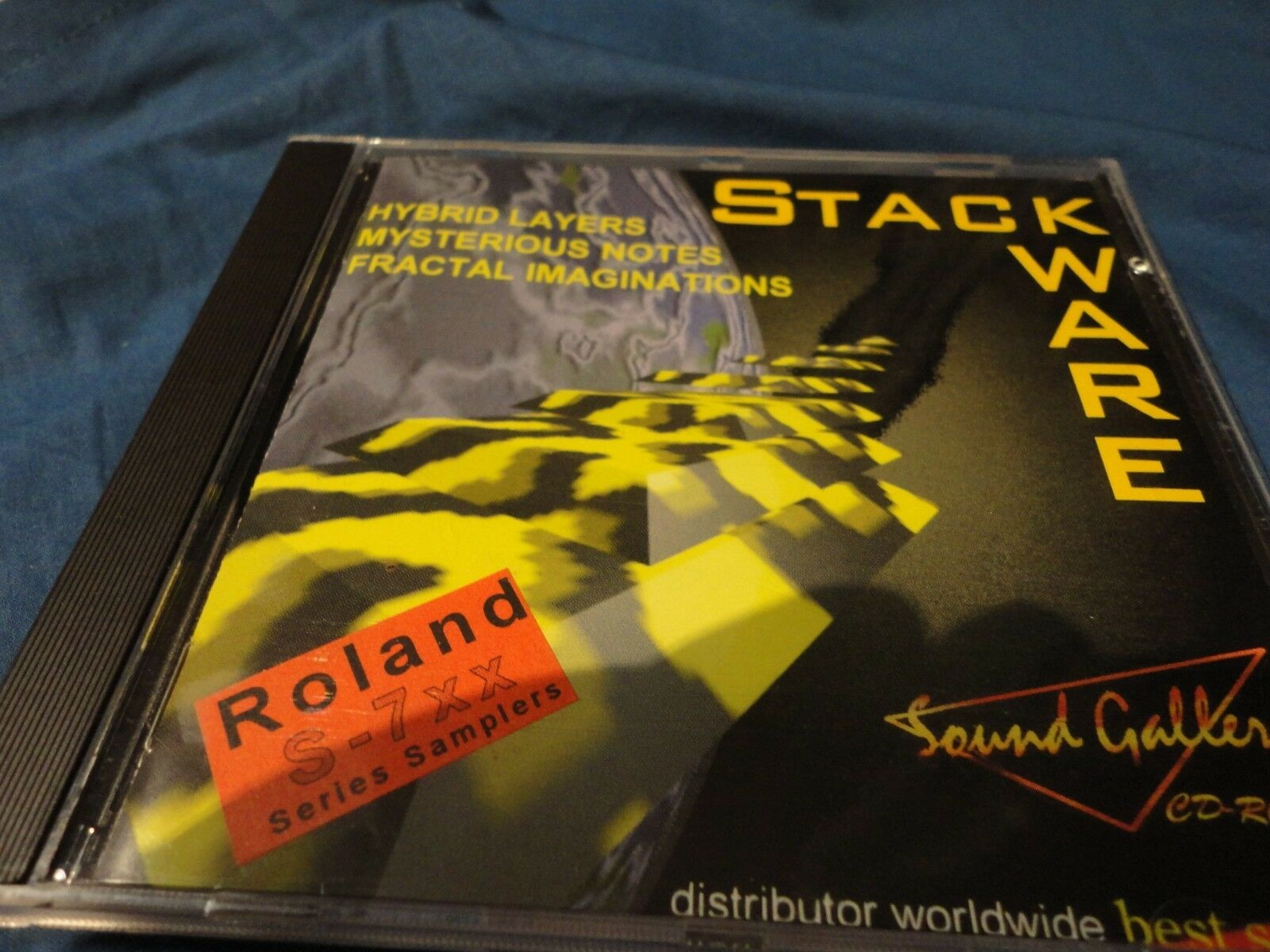 Stackware Sound Gallery - Roland Sample CD Rom - (see list) Roland S 760 Sampler