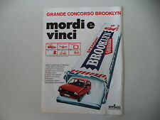 advertising Pubblicità 1977 GOMME CHEWING GUM BROOKLYN e FORD FIESTA