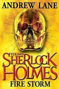 Young-Sherlock-Holmes-4-Fire-Storm-Lane-Andrew-Very-Good-condition-Book