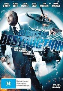 10 Days To Destruction DVD_Cult Nikos Tzimas James D'Arcy Alicia Witt