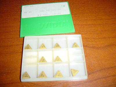 Widia carbide TPMR 222 triangle inserts CNC lathe boring machine shop 10 pcs
