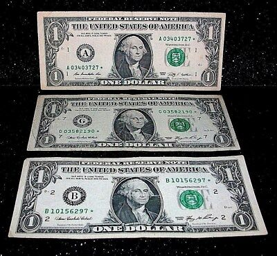 money with star in serial number