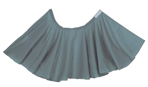 COMAIR Hairdressing Cape Gown Nylon Crash Short Grey 85x 85cm