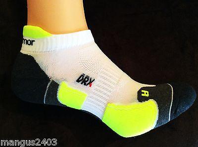 Homme haute qualité karrimor tab dos trainer chaussettes de course dry pro noir blanc fl