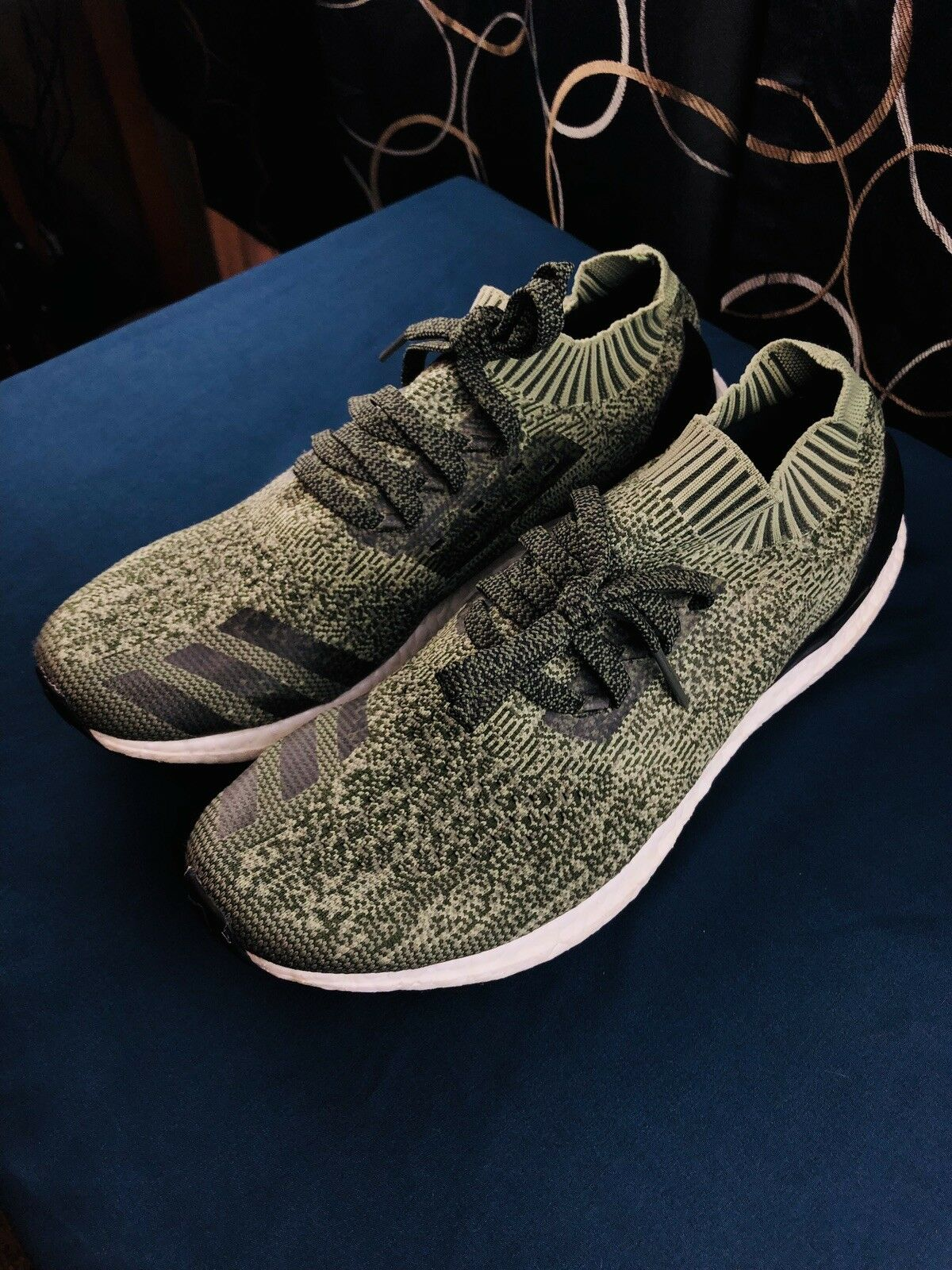 Adidas Ultra Boost Uncaged Olive Green - Mens Size 11.5 - New