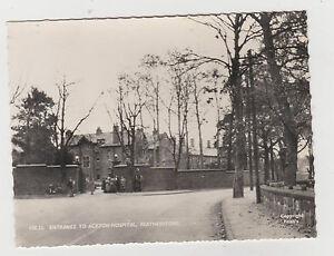 Entrance-to-akton-Hospital-FEATHERSTONE-antigua-Real-FOTO-TARJETA-POSTAL