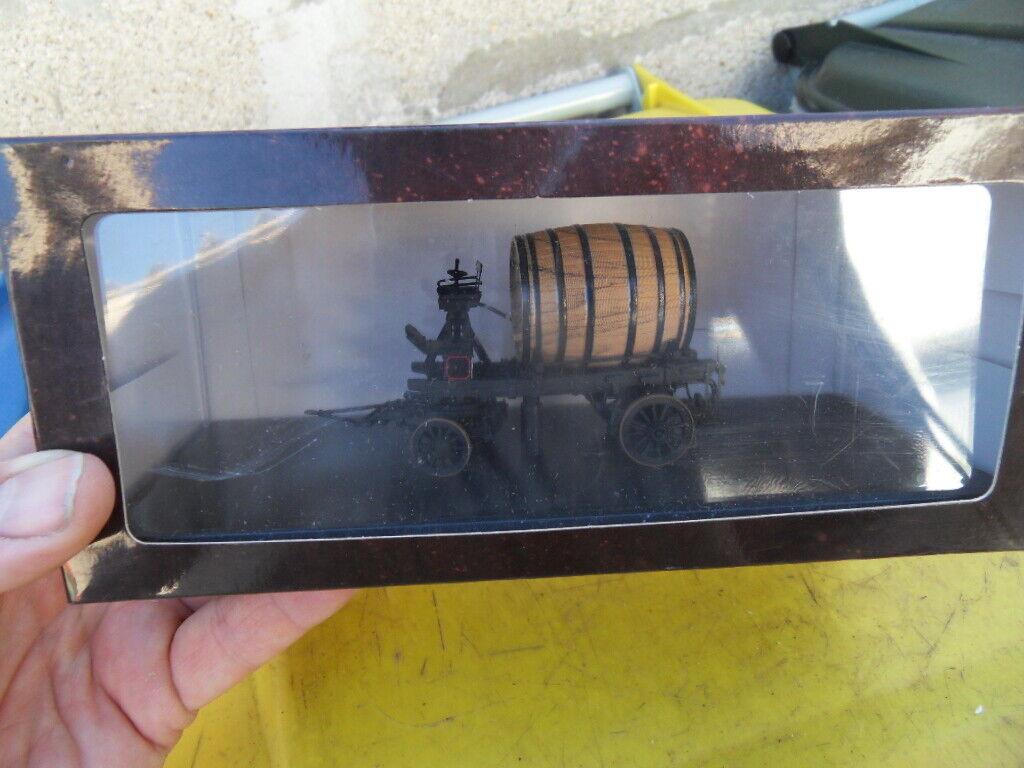 Chariot tonneau de biere brasserie Haacht OMMEGANG WSI MODELS 1  43e  sortie en ligne