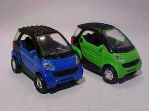 Mercedes Smart Car >> Details About Lot 2x 2 Inch Mercedes Smart Fortwo 2005 Unbranded 1 50 Diecast Mint Loose
