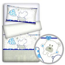 Baby Bettwäsche für Wiege Set 70x80cm Kissenbezug Bettbezug 2PC Leiter Creme