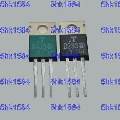 1pairs 2SB628//2SD608 B628//D608 Transistor TO-220