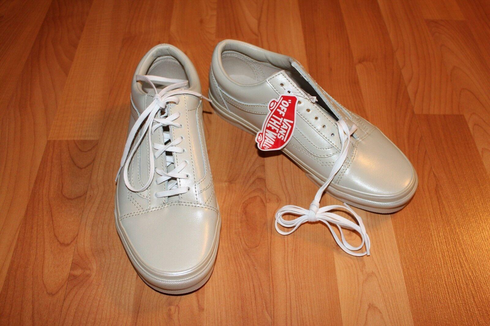 NEW Women's Sz 8.5 VANS Old Skool Metallic Sidew Retro style Sneakers shoes