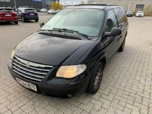 Chrysler Grand Voyager, 2,8 CRD Limited aut., Diesel, aut.…