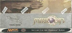 MTG-Magic-the-Gathering-Factory-Sealed-Mirrodin-Theme-Decks-Box