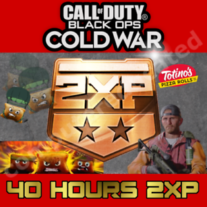 CoD-Call-of-Duty-Black-Ops-Cold-War-40-Hrs-2XP-Emblem-Skin-Card