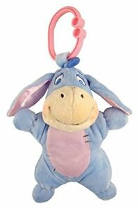 Winnie-the-Pooh-Attachable-light-up-Musical-Eeyore-Pram-toy-New