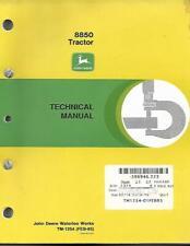 John Deere 8850 Tractor Technical Manual