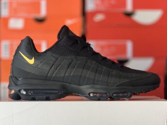 Size 12 - Nike Air Max 95 Ultra Black Amarillo